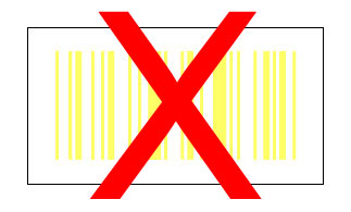 barcode geel wit