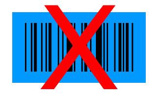 barcode blauw zwart