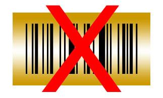 barcode goud