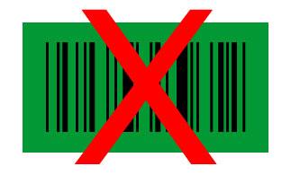barcode groen zwart