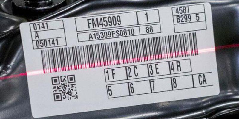 barcode etikett scan | Weber Marking Systems