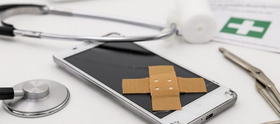 Defektes Smartphone reparieren